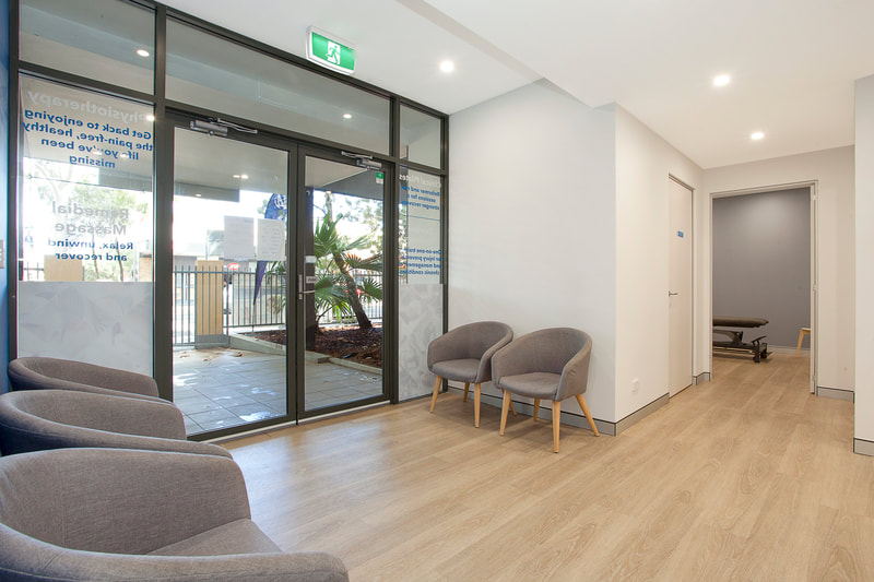 Botany Physio waiting area