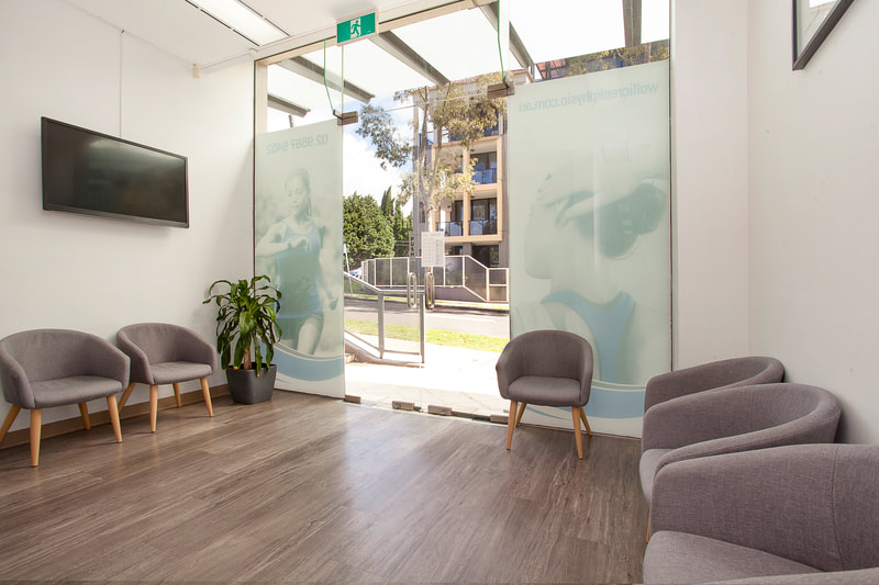 Physio wolli creek waiting area